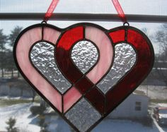 Christmas Tree Ornament Stained Glass Tree by StainedGlassYourWay