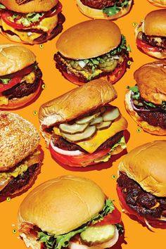 What Shake Shack Hath Wrought: The Return of the Burger-Joint Cheeseburger Retro Recipes, Vintage Recipes, Ethnic Recipes, Food Photography Styling, Food Styling, Food Typography, Compound Butter, Food Illustrations, Food Design
