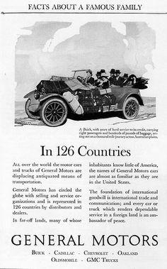 General Motors: 1924 by dok1, via Flickr