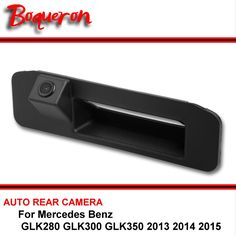 For Mercedes Benz GLK280 GLK300 GLK350 2013 2014 2015 HD CCD Rear View Reversing Camera Car Back up Parking Camera  Trunk handle