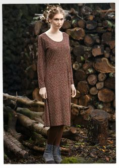 """Gillöga"" eco-cotton/modal dress – New Years dresses –"