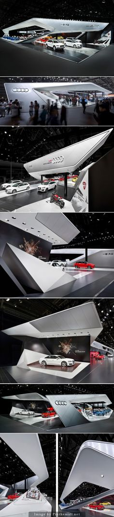 Audi exhibition design Auto China 2014 schmidhuber.de schmidhuber and partner - created via http://pinthemall.net