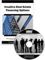 Creative Real Estate Financing Options: Real Estate Agents CD & Manual $49.00