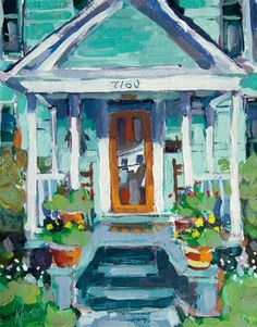 """Porch 7160"" by Kevin Larson"