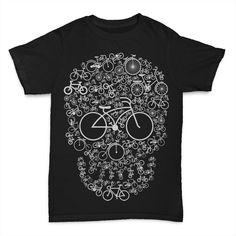Bicycle Skull buy t shirt design