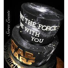 Star Wars cake                                                                                                                                                                                 Más