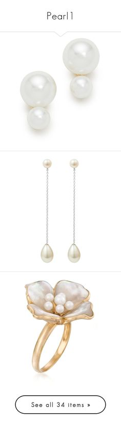 """Pearl1"" by martesaltroo on Polyvore featuring jewelry, earrings, accessories, cream multi, cream jewelry, imitation pearl earrings, kate spade jewelry, fake pearl jewelry, faux pearl stud earrings and wrap jewelry"