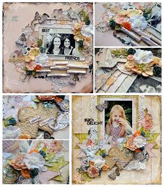 Prima Janine's Layout Class Collage