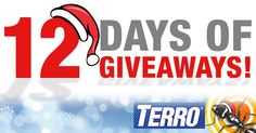To celebrate their 100 year anniversary, TERRO is joyfully giving away $100 every day during the TERRO 12 Days of Giveaways!