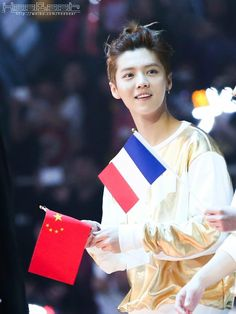 140406 EXO Luhan @ Peace & Love & Friendship Concert <3
