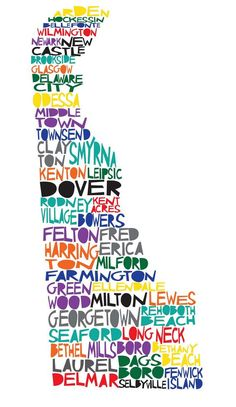 Items similar to DELAWARE Digital illustration Print of Delaware State with Cities on Etsy Delaware State, Delaware Valley, Wilmington Delaware, Rehoboth Beach, State Map, Great Christmas Gifts, Way Of Life, The Places Youll Go, Digital Illustration