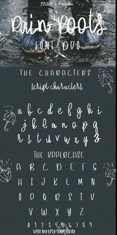 Chalkboard Lettering Alphabet, Cute Fonts Alphabet, Calligraphy Fonts Alphabet, Chalkboard Fonts, Hand Lettering Fonts, Lettering Styles, Lettering Tutorial, Cute Handwriting Fonts, Hand Drawn Fonts