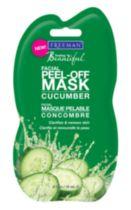 Feeling Beautiful Cucumber Facial Peel-Off Mask Sachet. Any type of single use scrub/peel.