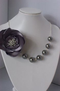 The Gisellein gray by TheGlitzyGirl on Etsy, $32.00