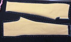 Iniciante na Costura: Calça preta de brim