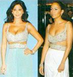 Elissa and J-Lo in same dress!