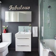 Over bath Shower via Living etc