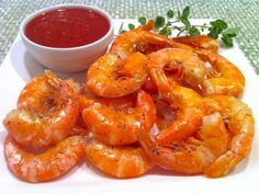 Roasted Peel and Eat Shrimp with Cocktail Sauce  from The Fountain Avenue Kitchen