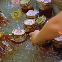 Tea, water, & lemonade drinks in mason jars (wedding favor too!)