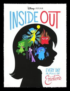 VICE VERSA/_ INSIDE OUT Poster Grand format A0 Large Print