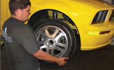 How much do #tires matter? Quite a bit. Check out today's blog, Kickin' the Tires.   Source - High-Performance Handling for Street or Track  http://www.motorbooks.com/motorbooks-blog/Kickin-the-Tires/407