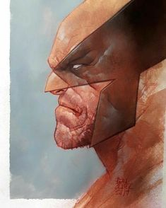 Ben Oliver- ball point pen process - Wolverine process A lot of people asked questions on the previous post, so hopefully here's some answers. I normally start with a quick… Hq Marvel, Marvel Comics Art, Marvel Heroes, Ben Oliver, Wolverine Art, Marvel Universe, Hero Arts, Marvel Characters, Comic Artist