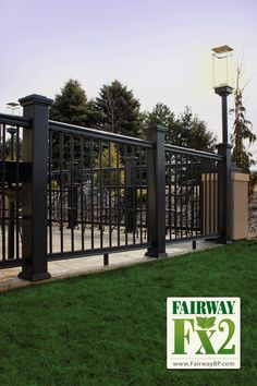 new wood plastic composite fencing wall UK | WPC Fencing