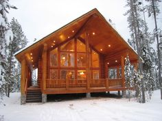 Wyoming Log Home