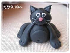 Sweet Creations by Stephanie: Fondant Kitty Tutorial