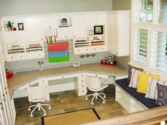 Wouldn't it be wonderful to have an entire room to scrapbook & craft in?! Even a closet would be wonderful....