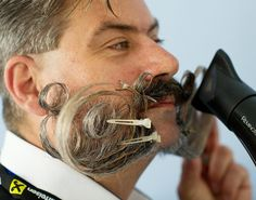Beard and Mustache World Championship Is A Monument To Manliness -  #beard #contest #Mustache