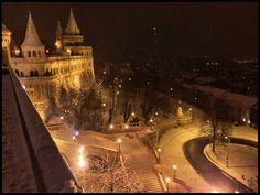 Fisherman's Bastion in wintertime #Budapest