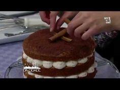 Naked Cake Junino de Amendoim com Paçoca – ReceitasTV Gazeta