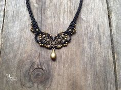 Hey, I found this really awesome Etsy listing at https://www.etsy.com/listing/171898684/macrame-necklace-chocker-custom-order