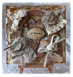 Gorgeous romantic card form Nicola at Paper Profusion