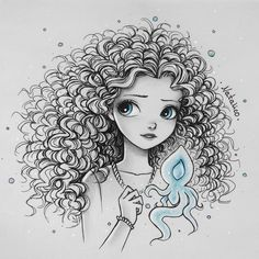 Merida art & drawings en 2019 drawings, disney drawings et p Art Drawings Sketches, Disney Drawings, Cartoon Drawings, Cute Drawings, Pencil Drawings, Disney Kunst, Disney Art, Amazing Drawings, Amazing Art