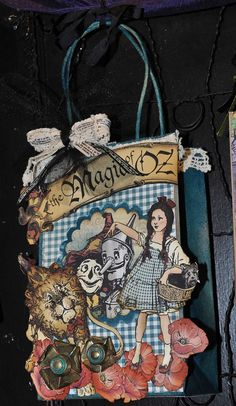 graphic 45.  Cute idea for an Alice themed party too.