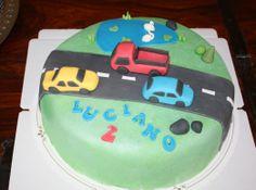 A Birthday cake for a little boy made by Nilla Hautasaari