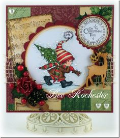 My little tree, part of the new release at Lili of the Valley stamps.