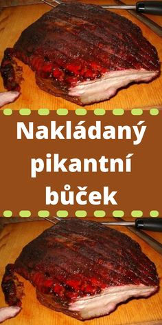 Bucky, Steak, Food And Drink, Cooking Recipes, Beef, Chef Recipes, Meat, Steaks