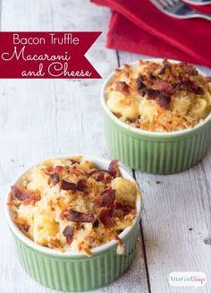 Gourmet Mac N Cheese Recipe, Mac N Cheese Bacon, Mac And Cheese Casserole, Macaroni And Cheese, Bacon Recipes, Crockpot Recipes, Cooking Recipes, Pasta Recipes, Free Recipes