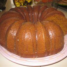 Pumpkin Gingerbread Allrecipes.com