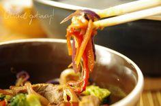 Obiad gotowy!: Wołowina z warzywami z woka