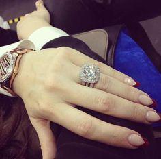 Khloe's fabulous wedding ring