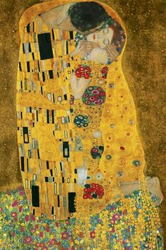 Image result for beloveds kiss klimt