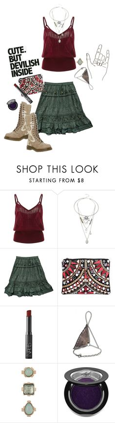 """""""Mo in L.A."""" by applecocaine ❤ liked on Polyvore featuring Tome, Oasis, ARI, Boohoo, NARS Cosmetics, Ware, 10 Bells, Ardency Inn, Patagonia and Dr. Martens"""