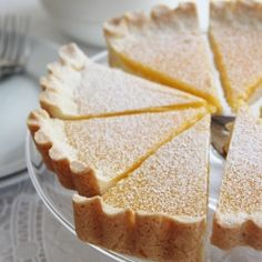 {recipe} A luscious lemon tart with a coconut shortbread crust and a zesty lemon curd filling Lemon Curd Filling, Shortbread Crust, Professional Chef, Food Industry, Sweet Life, Tart, Coconut, Pie, Baking
