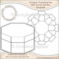 Image result for exploding box template