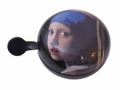 "Bicycle bell ""Girl with a Pearl Earring"", Mauritius Museum Shop"