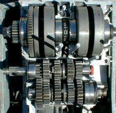 The shafts and bearings in the XS650 bottom end. http://www.InTheWind.org
